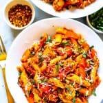 Spicy Penne Arrabiata recipe