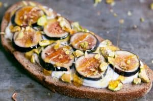 Breakfast Toast With Fig Recipe