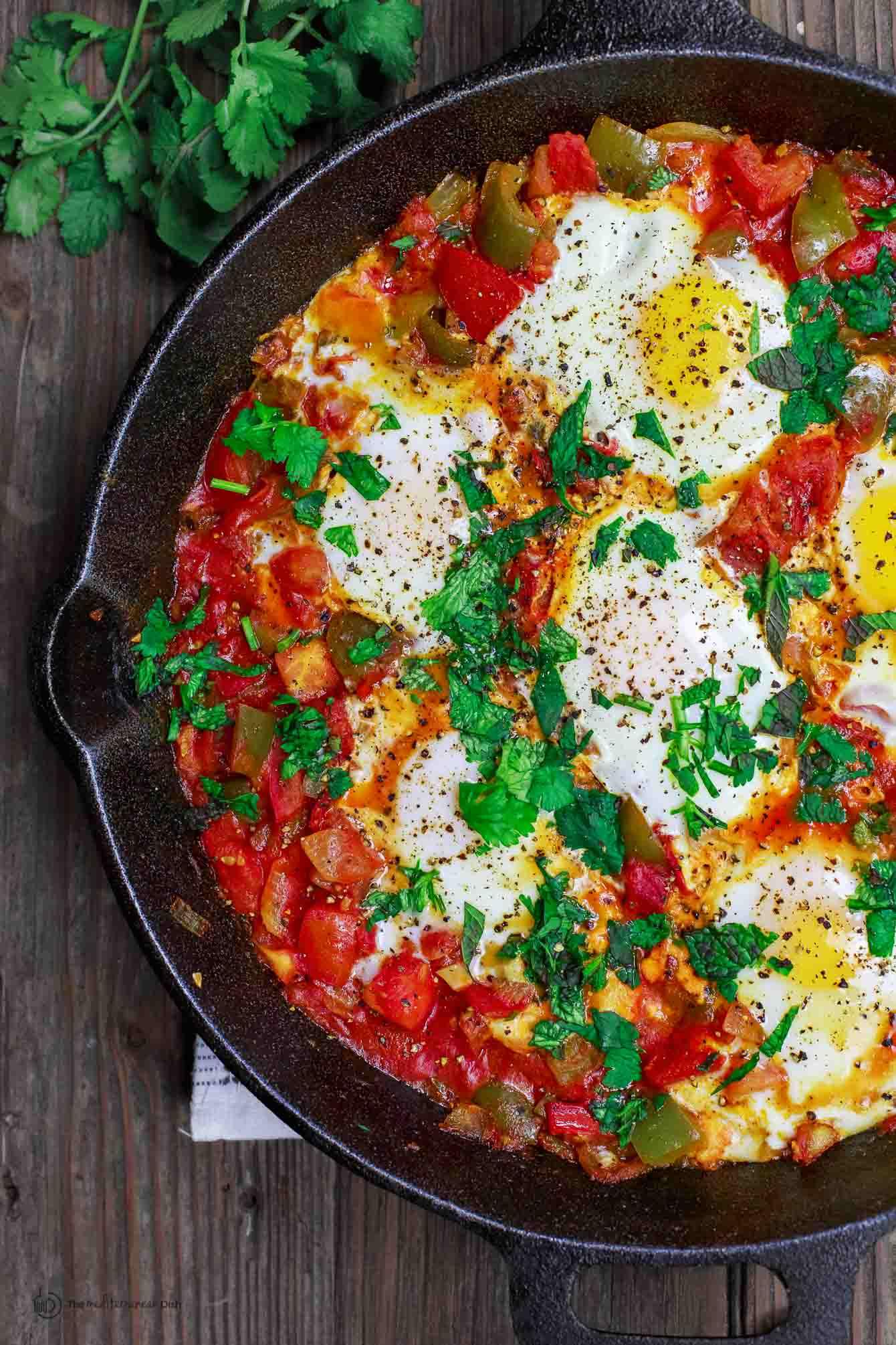 Mediterranean Diet Shakshuka