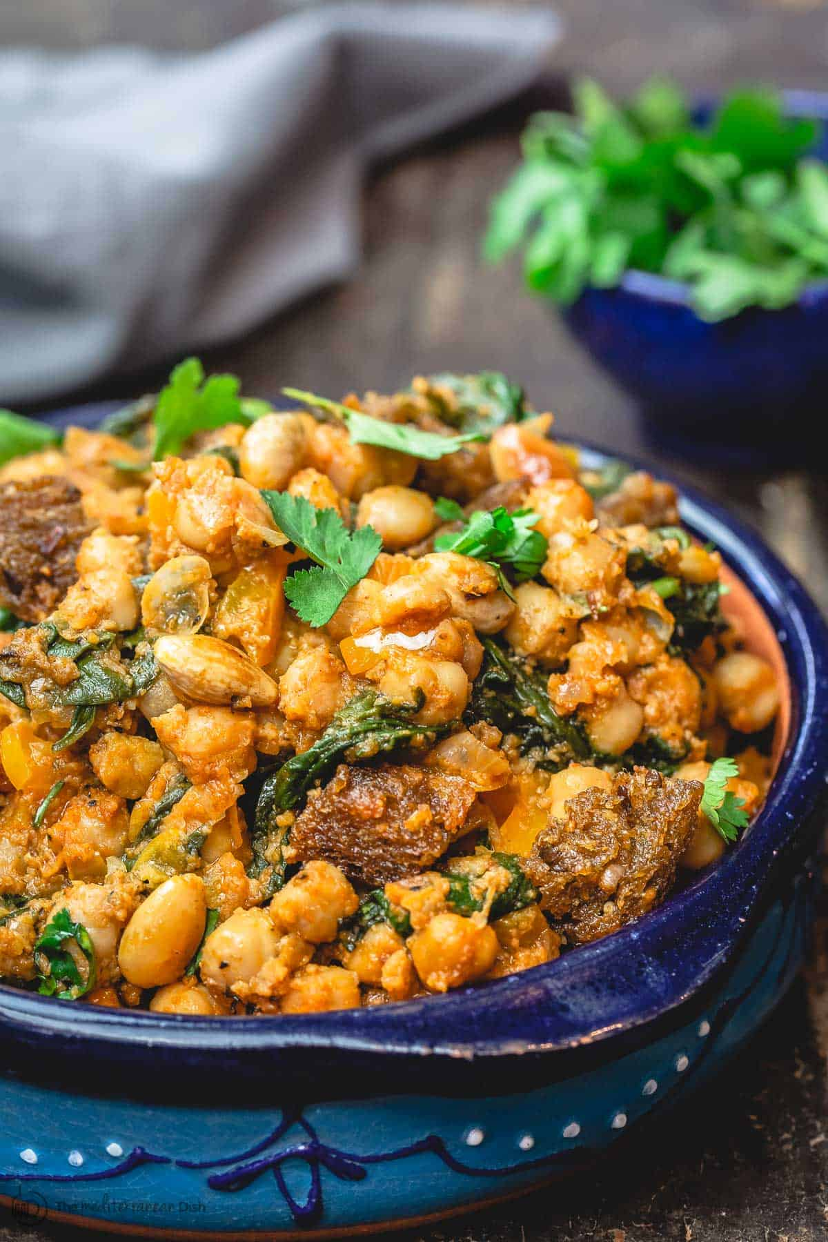Recipe for Spanish Chickpea Stew