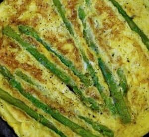 Greek Omelet With Asparagus Recipe