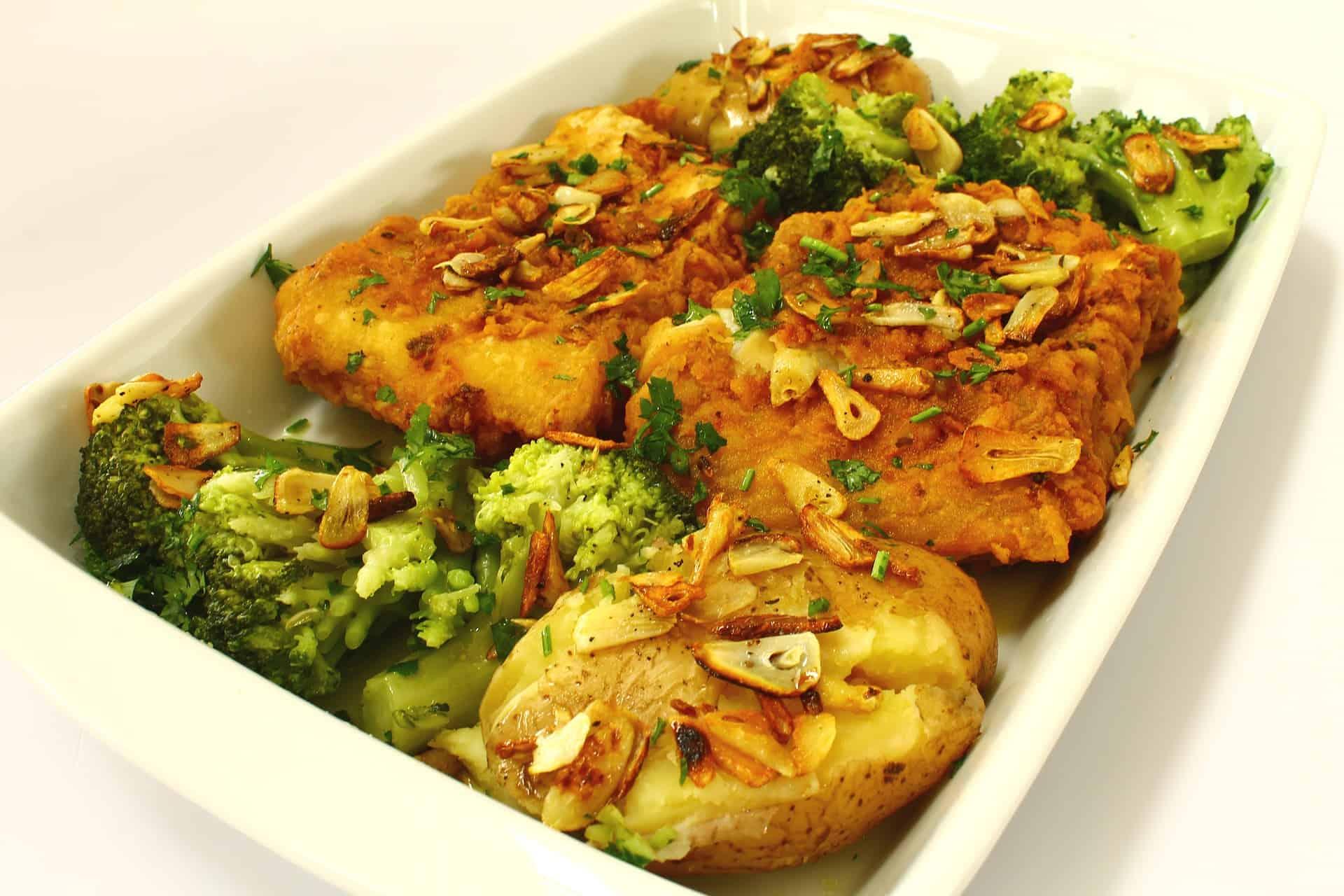 Greek Baked Cod Recipe