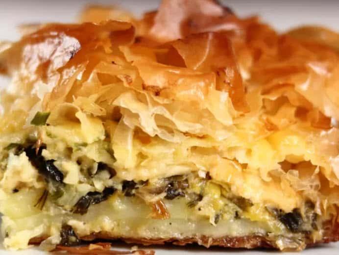 Greek Leek Pie