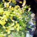 Braised Eggs With Leeks Recipe
