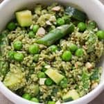 Quinoa Pesto Bowl Recipe