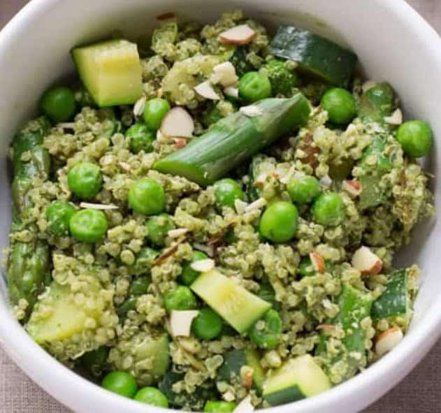 Quinoa Pesto Bowl Recipe