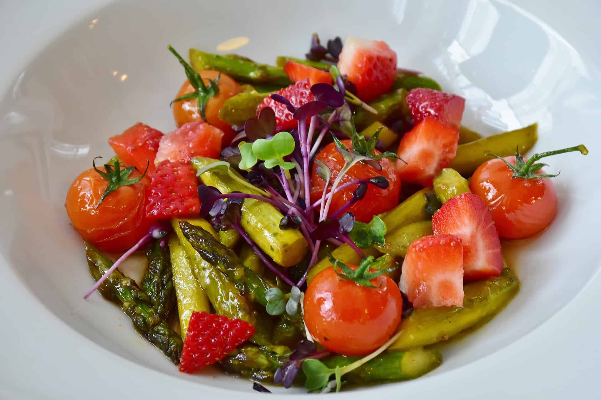 Asparagus Halloumi Cheese Salad Recipe