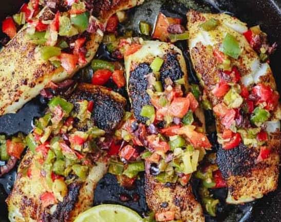 Mediterranean Sea Bass Recipe