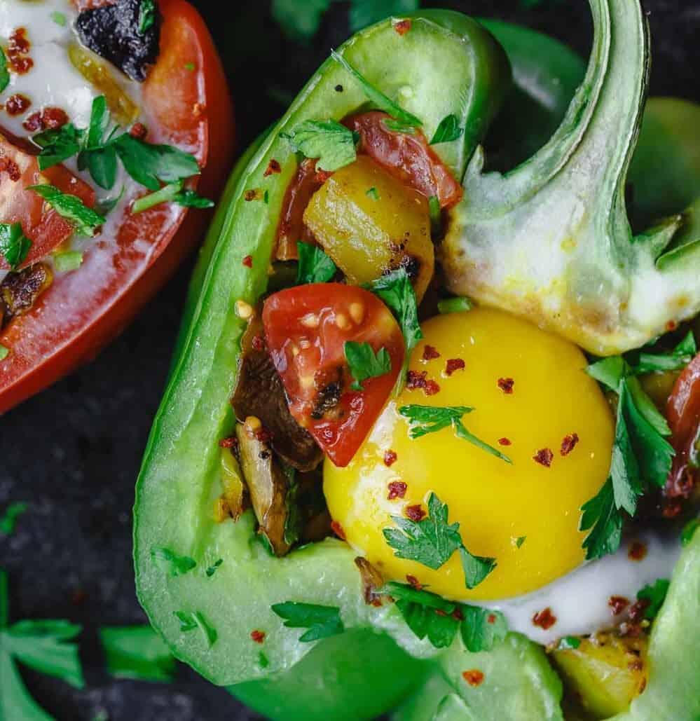 Stuffed Breakfast Peppers Recipes