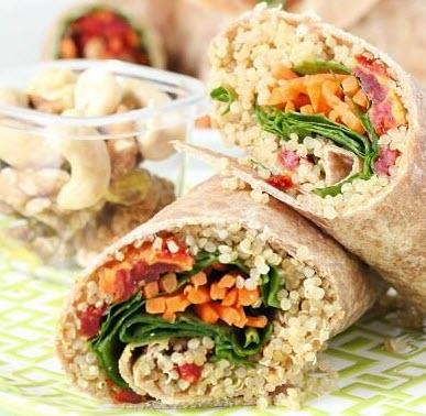 Veggie Quinoa Wrap