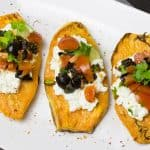 Vegetarian Stuffed Sweet Potato Recipe
