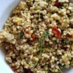 Sorghum Risotto Recipe