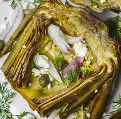 Artichoke and Feta Mediterranean Diet Recipe
