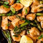Lemon Chicken with Asparagus Recipe