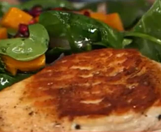 Salmon and Roasted Butternut Squash
