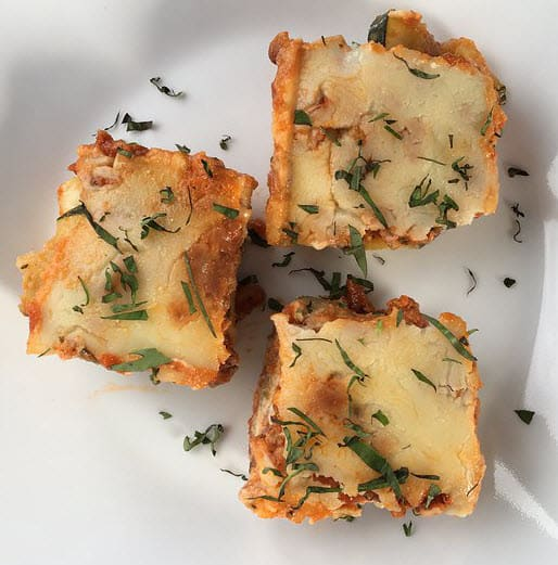 Lasagna Rolls with Zucchini Recipe