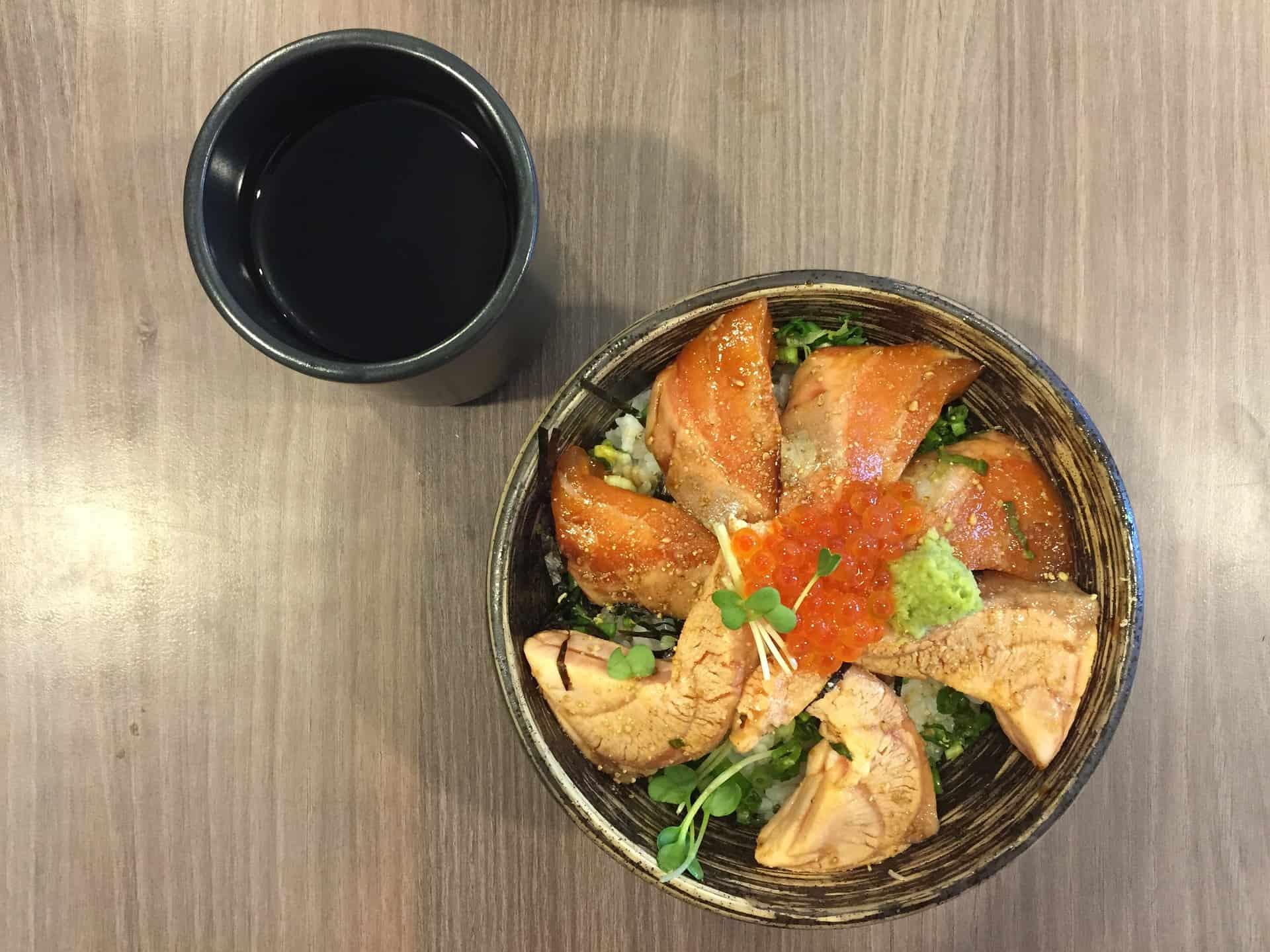 Spicy Salmon Bowl Recipe
