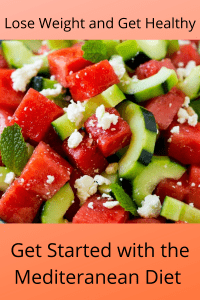 Get Started Losing Weight  With the Mediterranean Diet