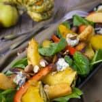 Mediterranean Diet Roasted Pumpkin Salad Recipe